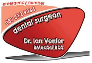 Dr. Ian Venter (Dental Surgeon)