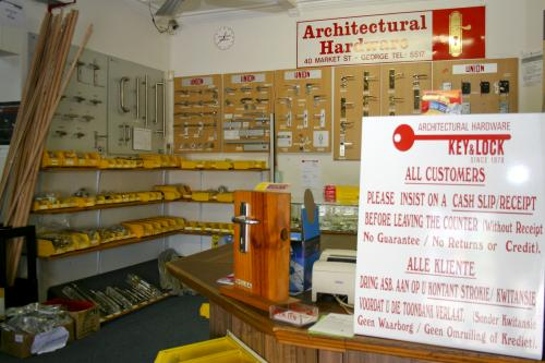 Key & Lock Service Architectural Hardware