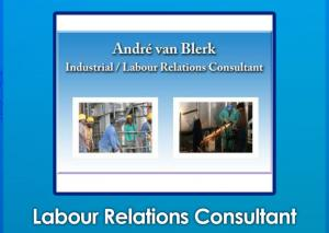 Industrial / Labour Relation Consultant