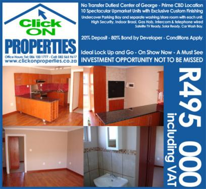 Upmarket Apartments for Sale