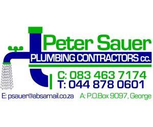 Peter Sauer Plumbing Contractors CC